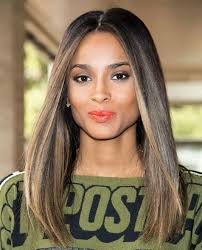 hair highlights bottom hair color ideas for dark skin