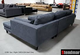 Modern Sofa With Chaise 3pc New Modern Grey Microfiber Sectional Sofa