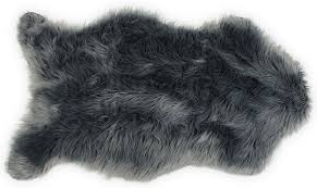 Faux Fur Sheepskin Rug Nouvelle Legende Faux Fur Sheepskin Premium Rug Single 23 In X