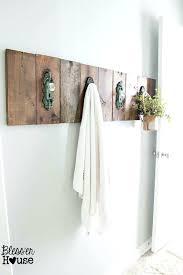 Bathroom Towel Hanging Ideas Towel Holder For Bathroom Engem Me