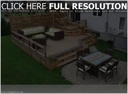 Deck And Patio Ideas For Small Backyards Backyards Cool Outstanding Small Backyard Decks Patios Images
