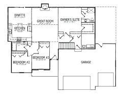 what is the floor plan split bedroom floor plans ranch house plans with split bedrooms