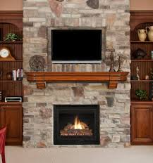 decorations zero clearance wood burning fireplace modern ideas