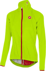 yellow waterproof cycling jacket castelli riparo jacket women u0027s