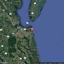 Google Maps Virginia Beach by Famous Beaches In Virginia Usa Today