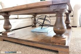 coffee table baluster coffee table throughout magnificent