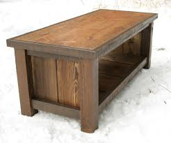 rustic reclaimed bench coffee table by echopeakdesign on etsy nz