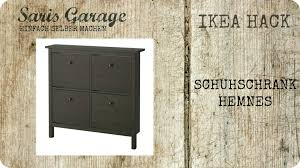 kommoden ikea hemnes ikea hack schuhschrank kommode regal upcycling diy