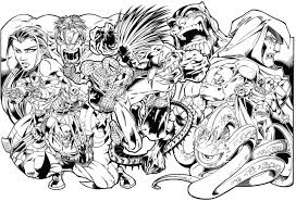 marvel super heroes 6 superheroes u2013 printable coloring pages