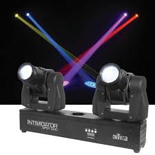chauvet intimidator spot duo dual moving led light pssl