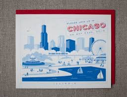 chicago wedding invitations new york chicago destination invitations hello lucky