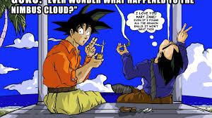 Dragon Ball Z Meme - dragon ball z hashish memes nimbus cloud wallpaper 20183