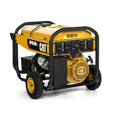 shop cat rp 6 500 running watt portable generator with caterpillar