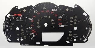 toyota yaris kmh to mph speedo meter clocks dials