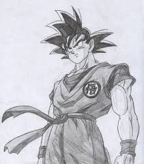 goku pencil sketch drawing sketch picture