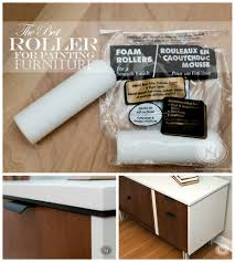 quick tip tuesday the best roller for painting furniture and