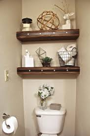 Small Bathroom Shelf Best 25 Over Toilet Storage Ideas On Pinterest Toilet Storage