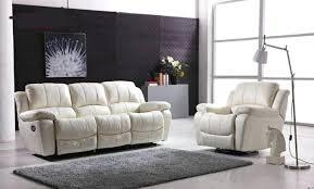 Leather Reclining Sofa Sets Sale Genuine Leather Recliner Sofa Set Catosfera Net