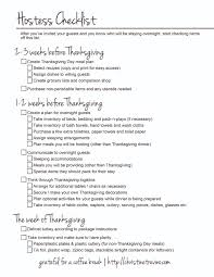 hostess checklist prep worksheets christine trevino