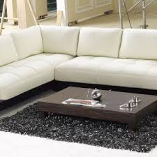 furniture modern leather sectional for contemporary living room