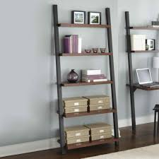 Distressed Wood Bookcase Distressed Ladder Shelf Amiphi Info