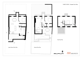 Turret House Plans Gallery Of Clapham House Mwarchitects 24