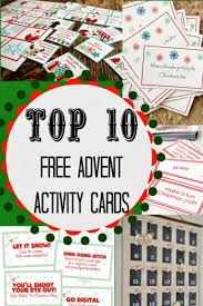 the bean sprout notes top 10 free advent activity card printables