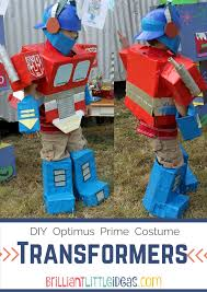 Transformer Halloween Costume Diy Optimus Prime Transformer Costume Transformer Costume