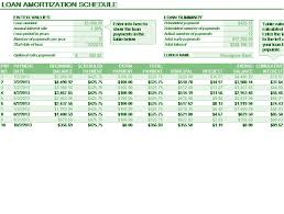 Amortization Table With Extra Payments Download Loan Amortization Schedule