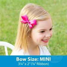 wee ones hair bows wee ones wee ones mini classic grosgrain hair bow size 3 25 x 2