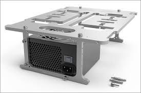 Bench Table Streacom St Bc1 Aluminium Open Benchtable