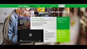 online tutorial library cad library online tutorial en v2 youtube