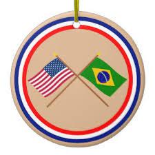 flag of brazil ornaments keepsake ornaments zazzle