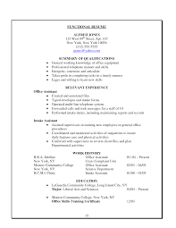 samples of functional resume doc 463599 resume examples office assistant best clerical resume companion cleric samples stuff administrative resume examples office assistant