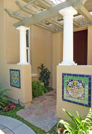 Southwest Style Homes by Spanish Style Home Using Mexican Tile Accents Kristi Black