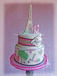 paris them 13th birthday cake reese u0027s bedroom is also paris