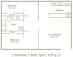 Split Floor Plan Magnolia Point Apartments Jacksonville Fl Floor Plans