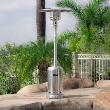 Patio Heater Propane by 48 000 Btu Standing Outdoor Propane Patio Heater W Wheel Csa
