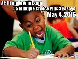 Multiple Picture Meme Creator - meme creator 55 multiple choice plus 3 essays ap lit and comp exam