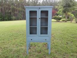 antique pie safe vintage kitchen cabinet hutch china cabinet wood