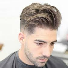 textured top faded sides top 101 best hairstyles for men and boys 2018 low fade side swept
