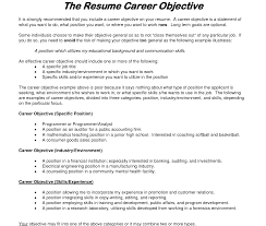 objective samples for resumes resume beautiful examples