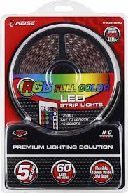 best buy led light strips heise 16 4 led light strip with remote multi h rgb5mrk2 best buy