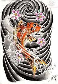 koi fish and lotus flower tattoo designs on sleeve photo 3 2017
