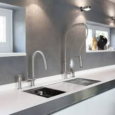 remarkable silver chrome grohe kitchen faucet stainless steel kitchen remarkable silver chrome grohe kitchen faucet stainless steel undermount kitchen sink grey stainless steel countertop