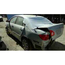 transmission toyota corolla 2003 2003 toyota corolla parts car silver with gray interior 4
