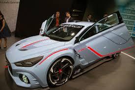 hyundai supercar wild hyundai rn30 concept debuts previewing n performance brand