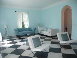 modern living room with concrete tile u0026 crown molding in miami
