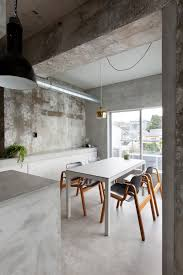 Concrete Interior Design by Concrete House With Raw Beauty And An Eye For Fashion