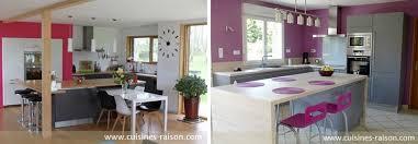 couleur cuisine mur des exemples de cuisines colorées iterroir